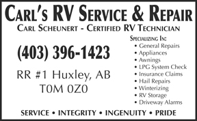 Carl's RV Service & Repair