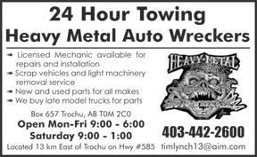 Heavy Metal Auto Wreckers