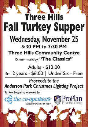 Community Turkey Supper