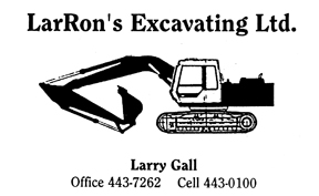 LarRon's Excavating Ltd.