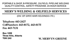 Merv's Welding & Oilfield Services