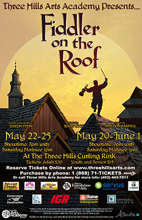 Three Hills Arts Academy: Fiddler on the Roof