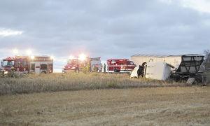 Crash victims escape serious injury