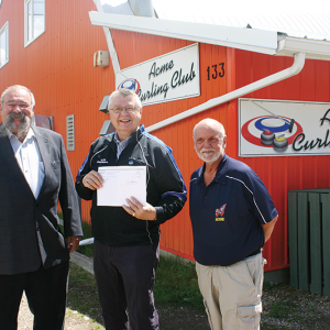Upgrades made possible at Acme Curling Club