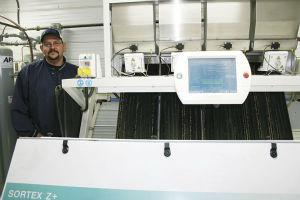 Three Hills and District Seed Cleaning Plant debuts the Buhler Sortex Z+
