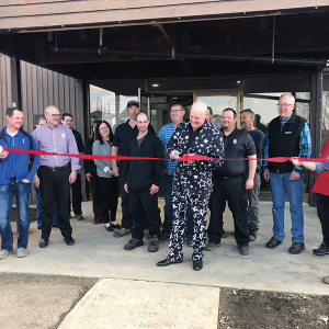 Ribbon cutting held for new Trochu Town Office