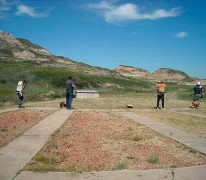 Gun Club holds summer shoot
