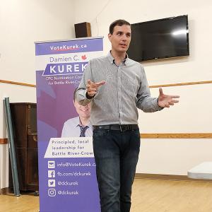 Damien C. Kurek hosts Town Hall Meeting