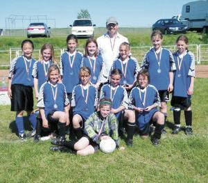 Acme/Linden U12 Girls Soccer score silver
