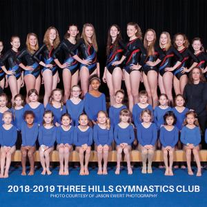 Three Hills Gymnastics Club celebrating 40 years