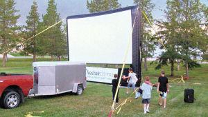 Outdoor Cinema a hit