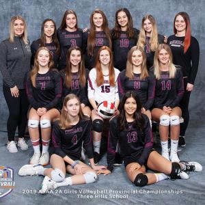 2A Girls' Volleyball Championships results
