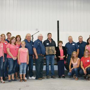 Miller Family receives Century Farm Awards