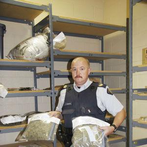 RCMP make marijuana bust