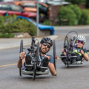 Para-Cyclist Joshua Pelland prepares for endurance marathon