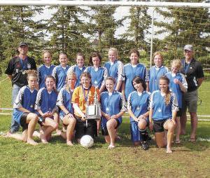Acme/Linden U18 Soccer win Provincial Gold