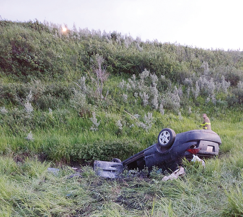 Carbon Coulee Accident