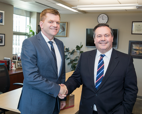 Jean and Kenney confirm commitment to work towards unity, announce plans for discussion groups