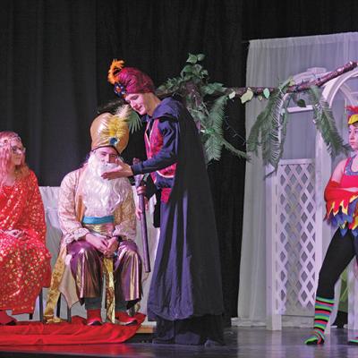 Aladdin Jr. takes the stage in Trochu