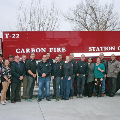 Carbon Fire hosts Open House