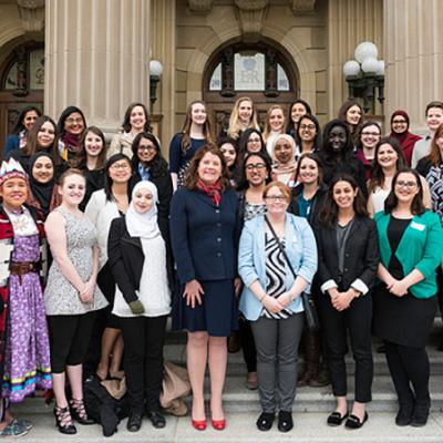 Women encouraged to pursue political future