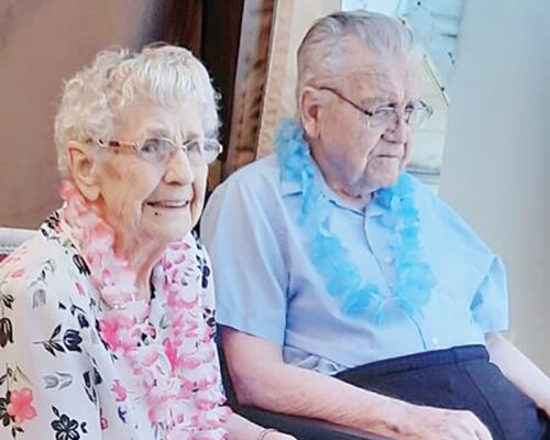 Albert and Lavina Enns to celebrate 75th wedding anniversary