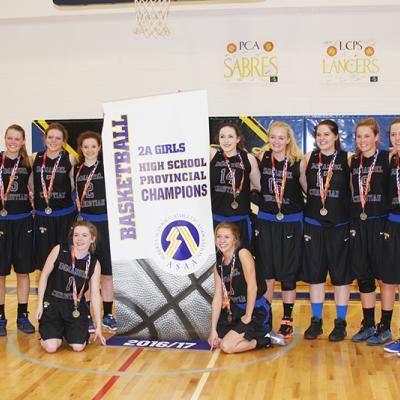 Immanuel Christian High School Eagles claim 2A Girls Provincial Basketball Championship
