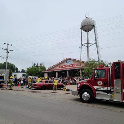 Linden Fire Department hosts annual Pancake Breakfast