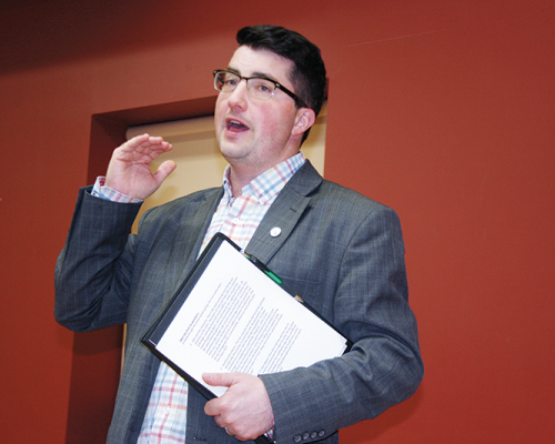MLA Nathan Cooper holds Town Hall Community Consultation