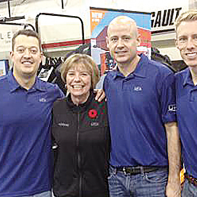 Norene Page cashes in on Curling Alberta's 50/50 raffle