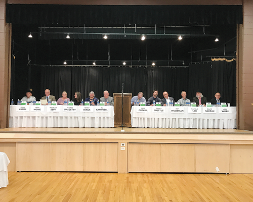 Chamber of Commerce hosts Three Hills Candidates Forum
