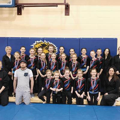 Three Hills Gymnastics hosts Invitational Meet